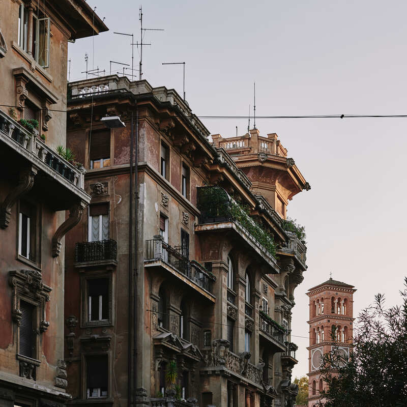 Quartiere Coppede Roma